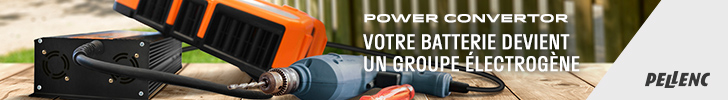 PELLENC POWER CONVERTER PAYSAGE 72890 JUILLET 2019