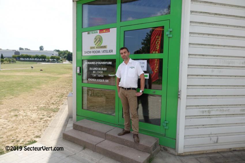 ETESIA-OUTILS WOLF : Interview de Pascal WENGER, responsable de la nouvelle Agence Commerciale de Wissembourg