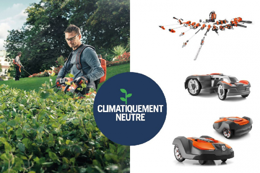 HUSQVARNA : Le programme Climatiquement Neutre 2019 engage la marque et ses équipements Forêt & Jardin, pour le climat et un monde décarboné, en partenariat avec First Climate