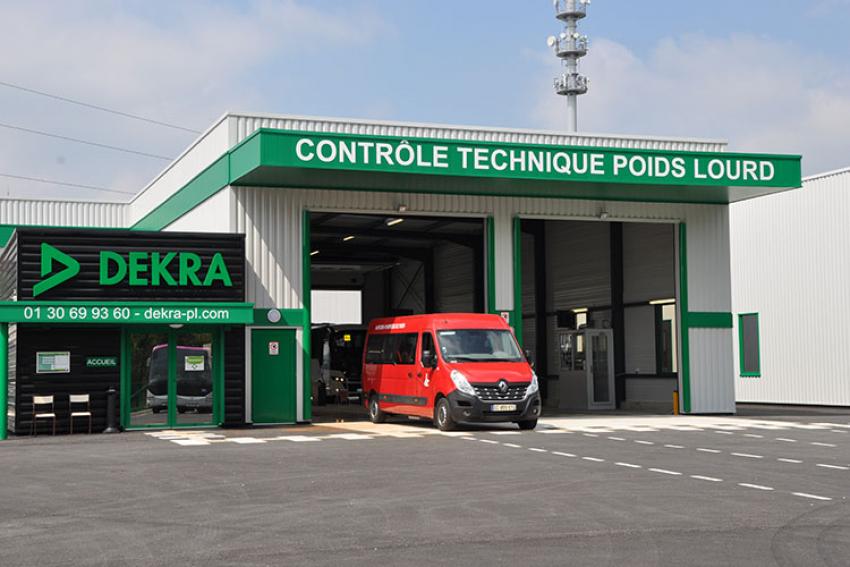 DEKRA : Coronavirus COVID19, les centres de contrôle technique des Poids Lourds du réseau DEKRA restent ouverts