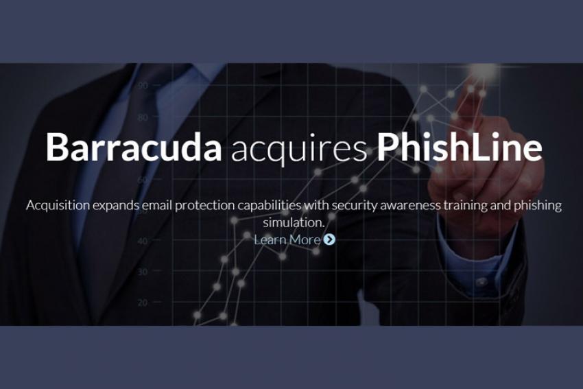 Avec l'acquisition de PhishLine, Barracuda cumule en ce début 2018 sécurité réseau, protection des données, protection contre les menaces ciblées basée sur l'intelligence artificielle et formation des utilisateurs