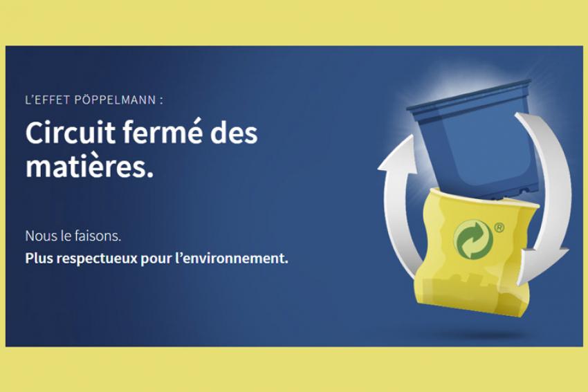 PÖPPELMANN : Découvrez les nouveaux produits TEKU® pour l'horticulture au Salon du Végétal 2019 de Nantes avec des plaques de culture et des pots PÖPPELMANN blue® 100 % recyclables et recyclés