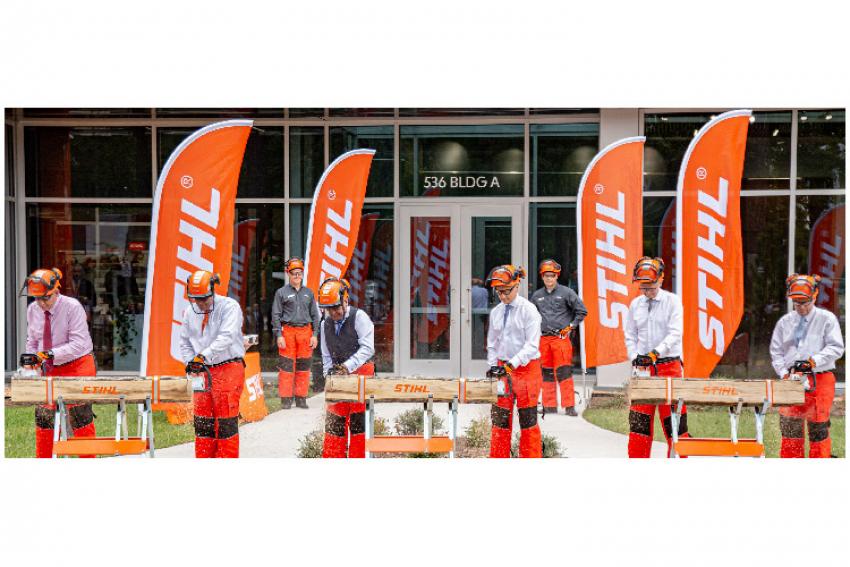 STIHL Inc., la filiale du Groupe STIHL aux Etats-Unis basée à Virginia Beach, vient d'inaugurer le 10 octobre 2019 un nouveau bâtiment pour renforcer ses activités de fabrication en Amérique