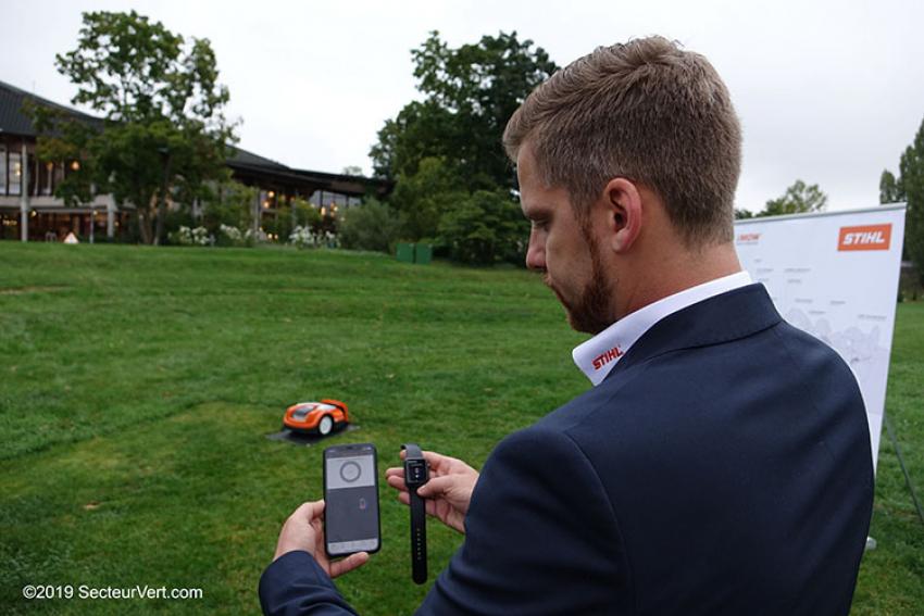 STIHL : Les robots de tonte iMow® (RMI 422 PC, RMI 632 C, RMI 632 PC) sont disponibles avec l'application innogy SmartHome
