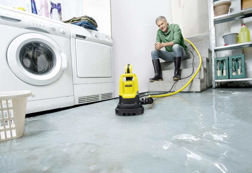 KÄRCHER FRANCE HOME & GARDEN lance en 2018 une nouvelle pompe d'évacuation «2 en 1» SP5 Dual pour eaux claires et eaux chargées
