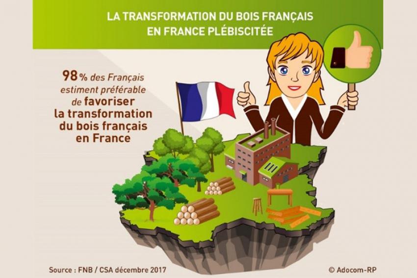 FNB - Fédération Nationale du Bois : En 2018, la crise des exportations du chêne brut prend une tournure de plus en plus inquiétante pour la pérennité de la filière de transformation française