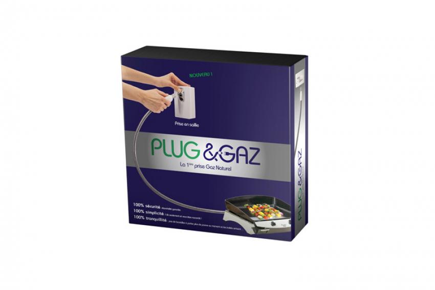PLUG & GAZ : Découvrez LA prise sécurisée pour raccorder en un seul geste tous les appareils au gaz à l'intérieur et à l'extérieur de la maison (tables de cuisson, barbecues, planchas, gazinières, poêles, four à pizza…) !