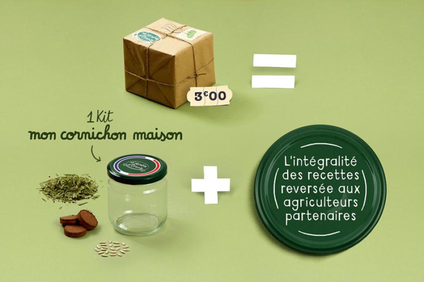 JARDIN D'ORANTE : Découvrez les kits 2019 pour faire pousser soi-même ses cornichons et soutenir la relance du Made in France par l'association des « Cornichonneurs Français »