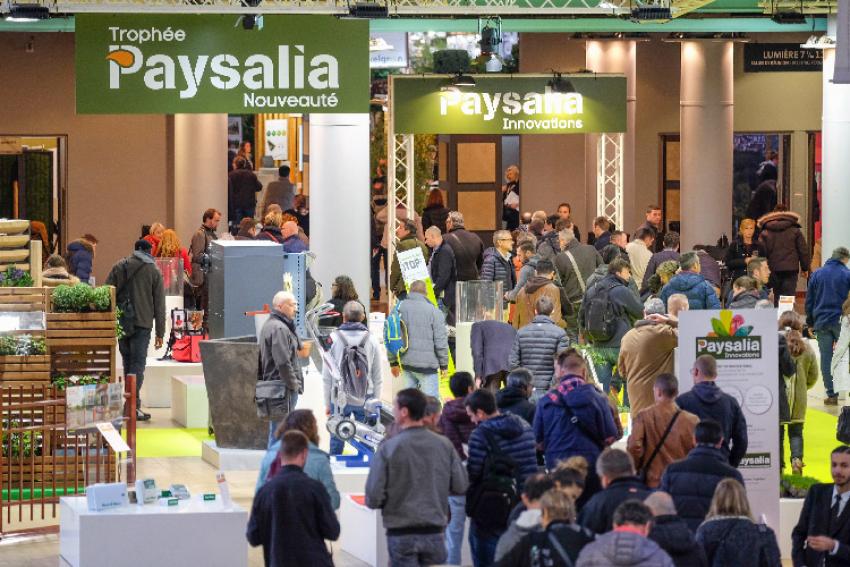 PAYSALIA : Le salon professionnel référent dans le secteur du paysage, se tiendra à Lyon du 3 au 5 décembre 2019
